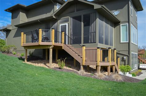 the difference between a deck and screened in porch deck