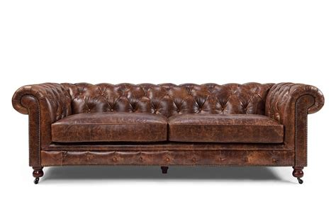 canape cuir chesterfield canapé chesterfield en cuir kensington