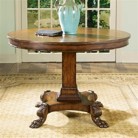 Wooden Foyer Round Table ? STABBEDINBACK Foyer : Very