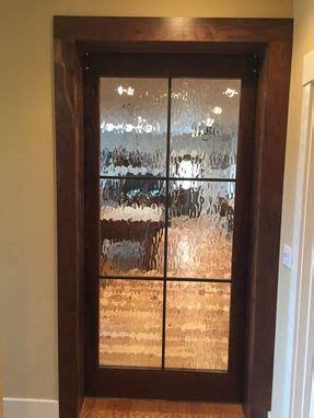 hand crafted western walnut interior barn door  cooper