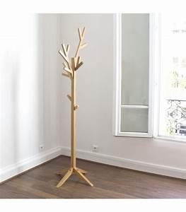 Porte Manteau Sur Pied Bois : porte manteaux sur pied design arbre coming b ~ Teatrodelosmanantiales.com Idées de Décoration