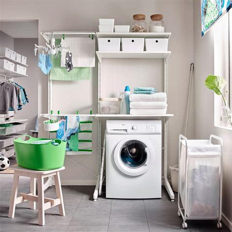 bathroom space saving ideas laundry utility room furniture and ideas ikea