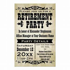 best photos of retirement flyer templates free With retirement announcement flyer template