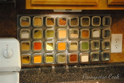 How To Make A Magnetic Spice Rack by How To Make A Magnetic Spice Rack Pennywise Cook