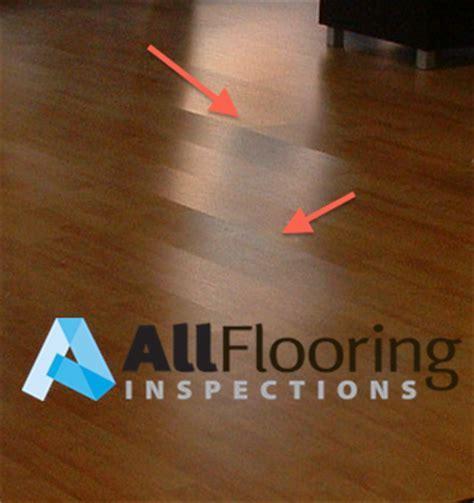 Buckled Laminate Flooring   All Flooring Inspections