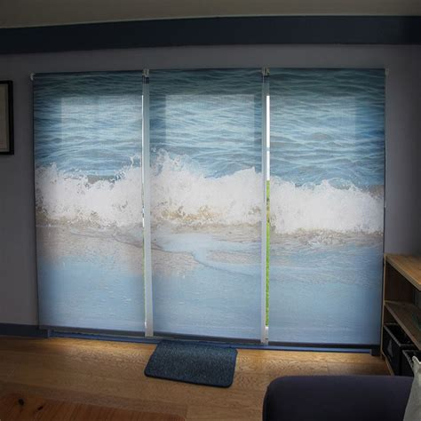 custom l shades seattle custom blinds printed for your window custom roller