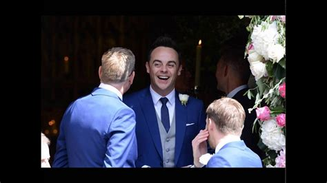 Hopefully happy: Declan Donnelly married Ali Astall - YouTube