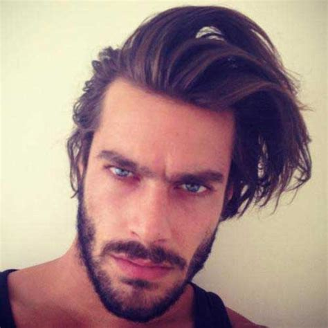 hairstyles  long face men mens hairstyles