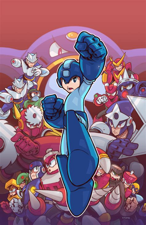 Mega Man 49 Cover By Edwinhuang On Deviantart