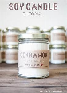 soy candle tutorial labels wwwgoinghometoroostcom With candle label ideas