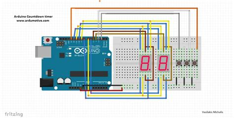 Arduino Simple Countdown Timer With Segment