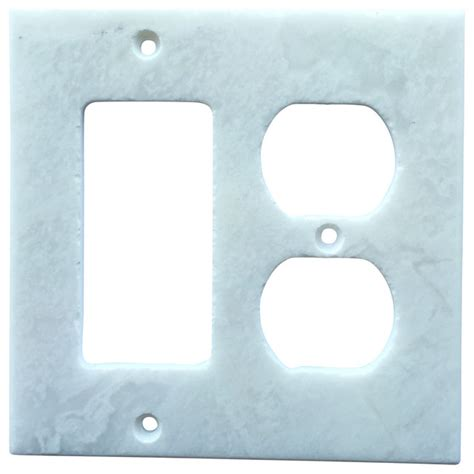 marble switch plates white marble meram blanc switch plate cover rocker duplex 4 5 quot x5 5 quot traditional switch