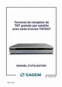 Decodeur Tnt Hd Satellite Sans Carte : d codeur tnt sagem notice ~ Dailycaller-alerts.com Idées de Décoration