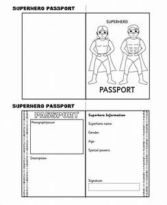 24 passport templates free pdf psd designs creative With passport photo print template