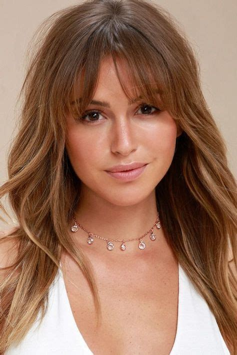Long Choppy Layered Hairstyles with Side Bangs