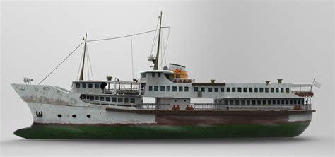 Steam Boat Model by 3d Model Steamboat Boat