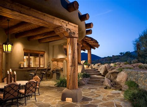 organic southwest southwestern patio by