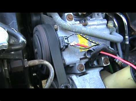 auto air conditioning repair 1994 mazda 626 on board diagnostic system auto a c compressor 1994 mazda b3000 youtube