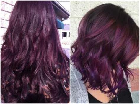 burgundy hair color ideas maroon deep purple plum burgundy dark red