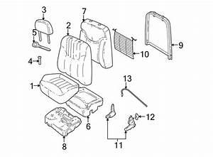 Pontiac Grand Am Headrest Guide  Neutral  Front