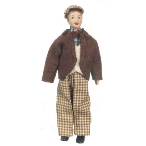 Porcelain Father Doll   Dollhouse Dolls   Superior