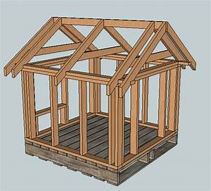 Ana white east fork free doghouse or playhouse or for Basic dog house plans