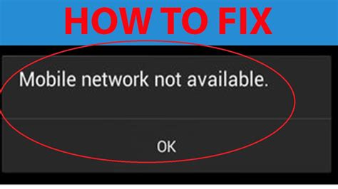 """How To Fix """"mobile Network Not Available """" On Android"""