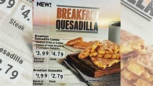 Taco Bell Offers New Breakfast Quesadilla - Chew Boom