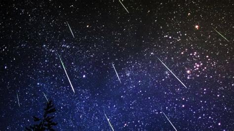 Today S Meteor Shower - meteor shower to light up midnight skies today features