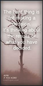 quotes about tough decision making - Google Search ...