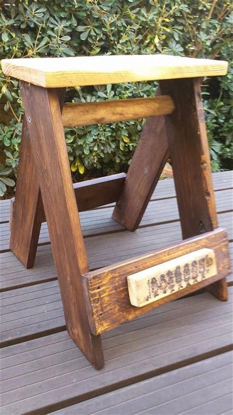 diy pallet multi  vintage stool pallet furniture plans