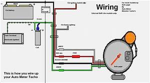 Autometer Sport Comp Tachometer Wiring Diagram