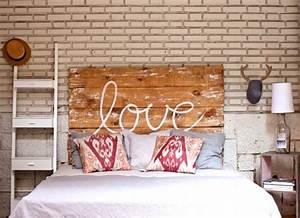 Idee Deco Tete De Lit : 8 id es d co de t te de lit en bois ~ Melissatoandfro.com Idées de Décoration