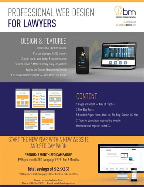 professional website design professional website design for lawyers seo promo houston