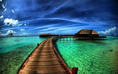 Background Amazing Nature Sea Laptop 3d Earth