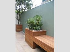 Outdoor Cedar Planter Bench WoodWorking Projects & Plans