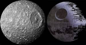 'Death Star' Saturn moon that looks like Star Wars ship ...