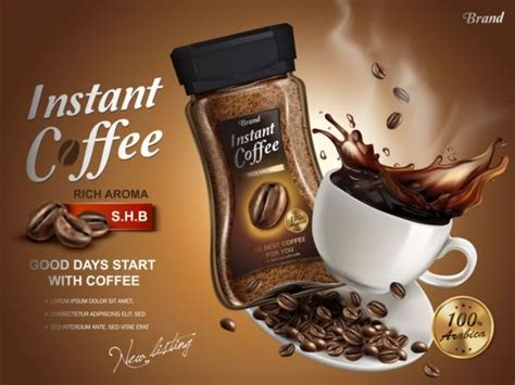 Instant Coffee Poster Template Vector 03 Acrylic Pour On Coffee Table Fox Hill High Outdoor Single Serve Maker Reviews 2016 Box One Cup Walmart Canada Landis Target