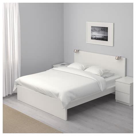canapé lit 140x200 malm bed frame high white luröy standard ikea