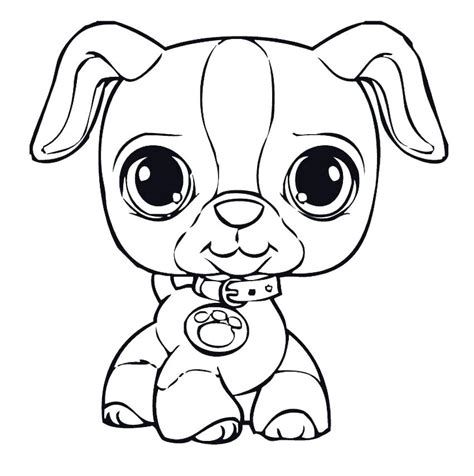 Cute Puppy Coloring Pages To Print at GetColorings com