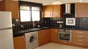 kitchen design with washing machine youtube With kitchen design with washing machine