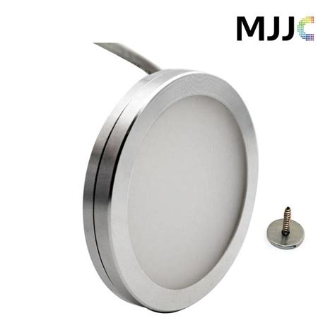 led kitchen cabinet lighting dimmable 12v dc 3w dimmable led cabinet lighting puck light 8938