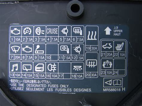 Fuse Box On A Mitsubishi Lancer by 2003 Mitsubishi Lancer Fuse Box Diagram Festival Collections