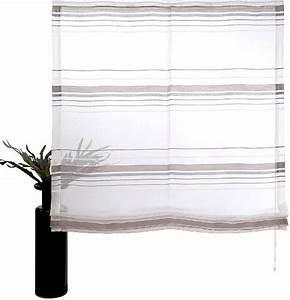 Raffrollo Weiß Grau : 1 st raffrollo 60 80 100 wei grau transparent rollo ~ Lateststills.com Haus und Dekorationen
