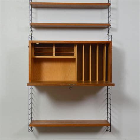 bureau string système d étagères bureau string par nisse strinning