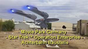 Neue Achterbahn 2017 Movie Park - Star Trek™ Operation ...