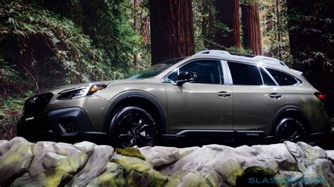 subaru outback adds turbo  huge touchscreen  fan