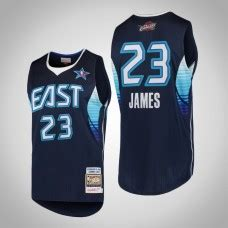 2017 All-Star LeBron James #23 Cavaliers Gray Eastern ...