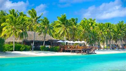 South Australia Pacific Cook Islands Beaches Aitutaki