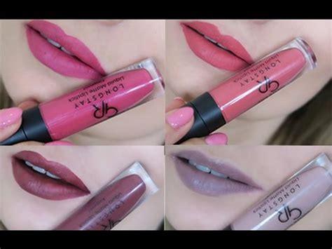 Kissproof Lipstick By Menow No 07 matowe pomadki w płynie golden longstay liquid matte